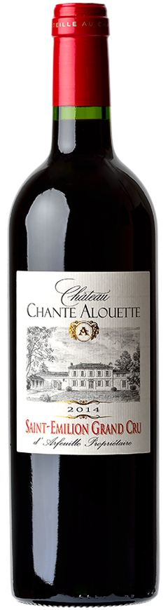 wine saint emilion grand cru chateau chante alouette
